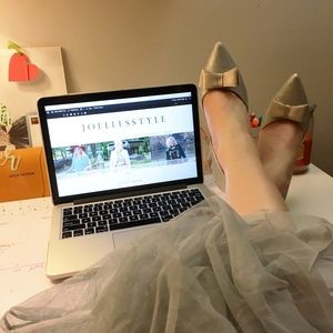 ASOS silver glitter shoes with bow